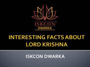 Some Interesting Facts About Lord Krishna