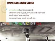 Mymp3song Music Search