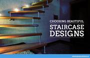 Floating and Spiral Staircases for Indoor Spaces