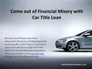 Get Quick Car Title Loan Approval