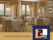 How Should You Differ the Cafe Chairs from the Restaurant Chairs(1)