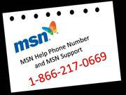 MSN Help Phone Number 1-866-217-0669 and MSN Support