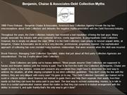 Benjamin, Chaise & Associates-Debt Collection Myths