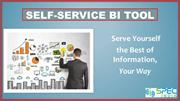 Self-Service BI Tool – Serve Yourself the Best of Information, Your Wa