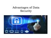 Advantages of Data Security - Sociale Controle