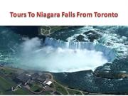 Tours To Niagara Falls From Toronto