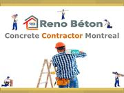 Concrete Contractor Montreal