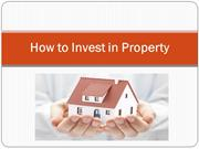 How to Invest in Property - Linda Lawton LL Realty