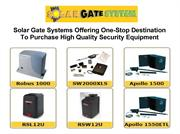 One-Stop Destination To Purchase High Quality Security Equipment
