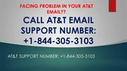 FACING PROBLEM IN YOUR AT&T EMAIL