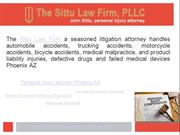 Personal injury attorney, pi and auto motorcycle accident lawyer at Ph