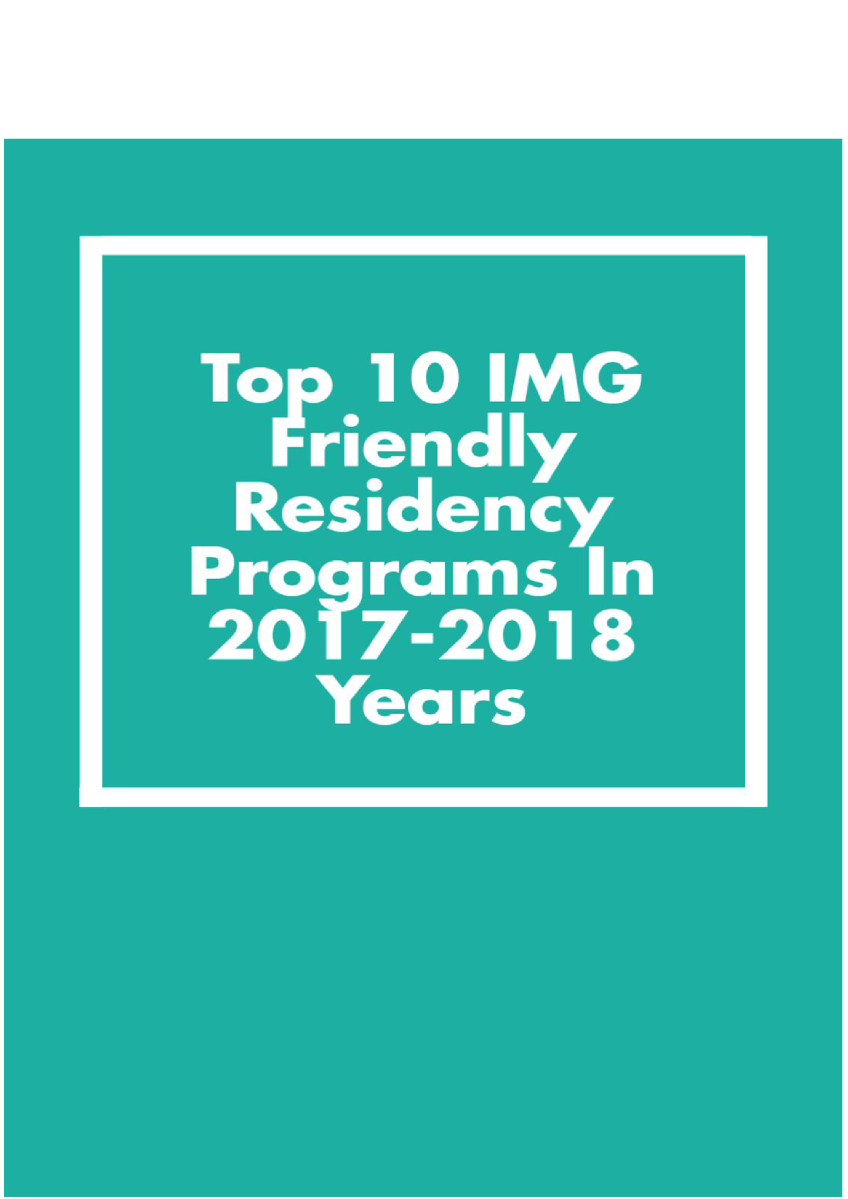 Residency in the 2017-2018 year 64