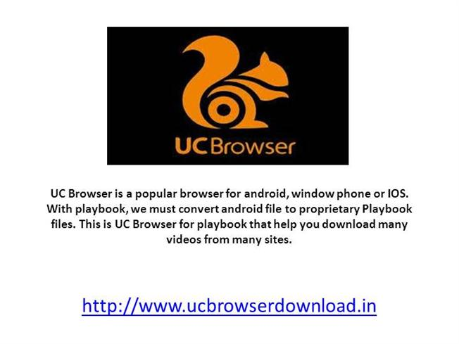 UC Mini Browser for Android Phone  authorSTREAM