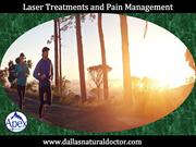 Laser Treatments and Pain Management