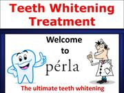Natural teeth whitening treatment kit