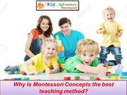 Why is Montessori Concepts the best teaching method