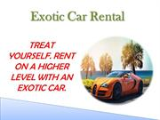 Exotic Car Rental San Diego CA