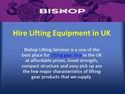 Bishop Lifting- Industrial Lifting Equipment Provider