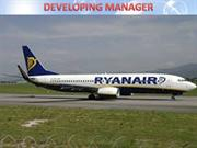 Ryanair Developing Manager Assignment