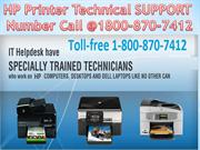TELL ME 1800 870 7412 HP Printer Technical Support Number USA CANDA