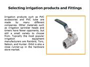 irrigation fitting online