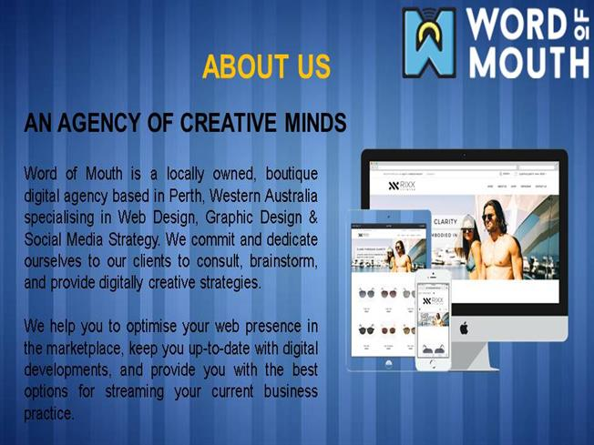Web Design Perth Word Of Mouth Agency Authorstream