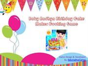 Baby Aadhya Birthday Cake Maker Cooking Game