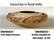 Coca-Cola in Rural India
