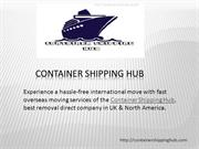Container Shipping Hub