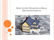 How to Get Started in Real Estate Investing - Capital Direct Funding