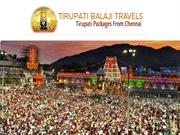 Tirupati package from Chennai