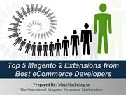 5 Best Magento 2 Extension to Grow eCommerce Business in 2017
