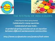 Sunfoodtech - Holi Colors Manufacturers | Holi Colors Suppliers