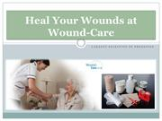 Heal Your Wounds at Wound-Care.co.uk