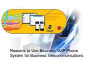 Reasons to Use Business VoIP Phone System for Business Telecommunicati