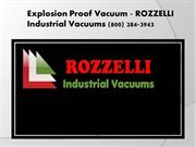 Industrial Vacuum Systems Pompano Beach