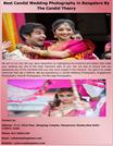 Best Candid Wedding Photography in Bangalore By The Candid Theory