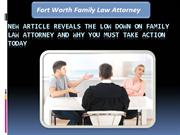 Fort Worth Family Law Attorney