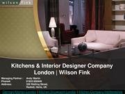 Kitchen Company North London Wilson Fink