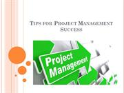 Tips for Project Management Success - Jack Nasher