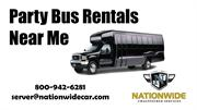 Searching for  Affordable Party Bus Rentals Near Me