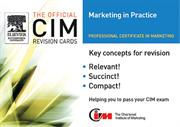 CIM Revision Cards Marketing in Practice by John Williams of Marketing
