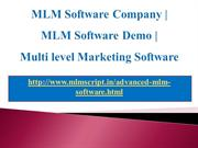 MLM Software Company, MLM Software Demo,Multi level Marketing Software