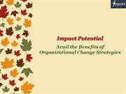 Avail the Benefits of Organizational Change Strategies - Impact Potent