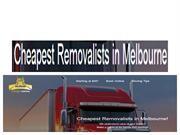 Cheapo Movers House Packers and Movers in Melbourne