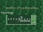 Prospect Of IT in west Bengal