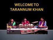 Tarannum Khan - India's Best Popular Tabla Players in Mumbai