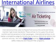 International Airlines on Cheap Ticket Shop