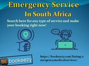 Best Emergency Service In South Africa