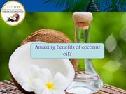 Amazing Health Benefits of Organic virgin coconut oil